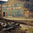 Abandoned Steel Mill - Stock Photo