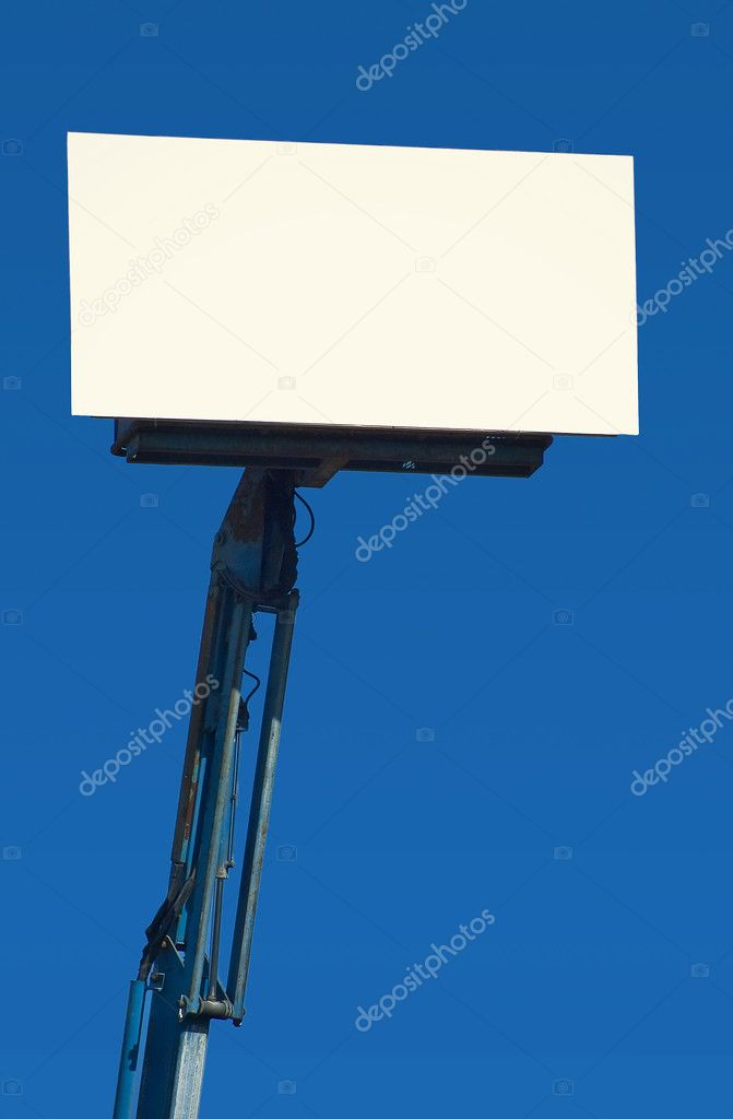 Blank Portable Billboard  Stock Photo #7469841