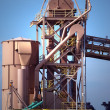 Stock Photo: Cement Plant Machinery