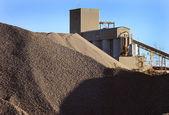 цементный завод машины — Стоковое фото