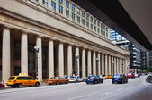 Chicago Train Station Cab Stand — Stockfoto