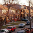 Stock Photo: UrbDetroit Neighborhood
