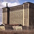 Stock Photo: Abandoned Train Station Detroit