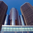 Modern Detroit Architecture — Stock Photo