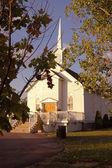 Little White Wedding Chapel — Stock Photo