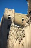 Vecchia chiesa di mattoni — Foto Stock