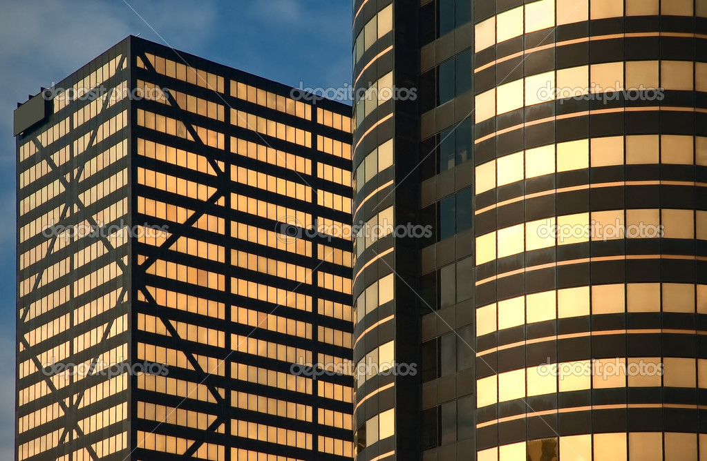 Modern Office Building  Stock Photo #7701380