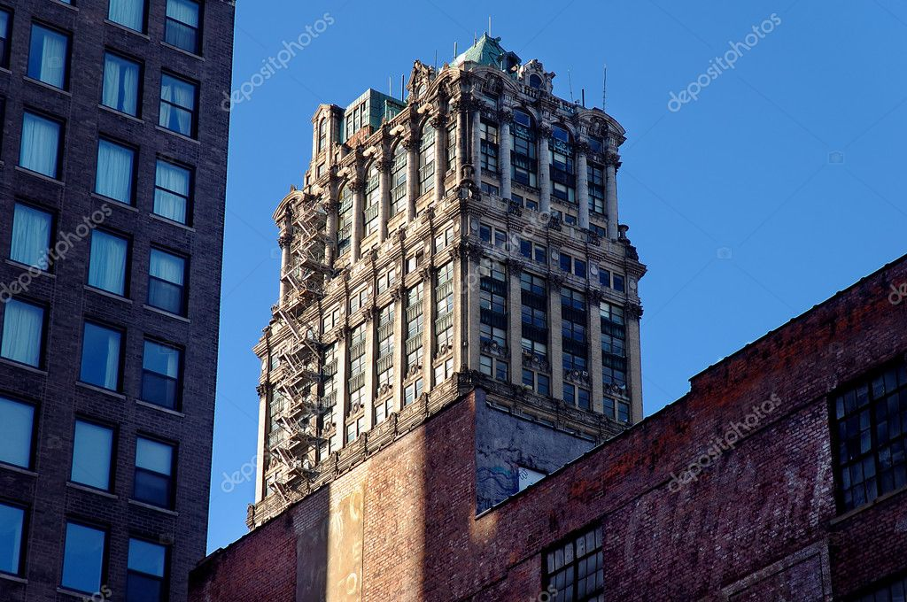 Classic detroit architecture stock photo jerryb7 7709511 for Architecture 770