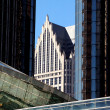 Stock Photo: Downtown Detroit Building