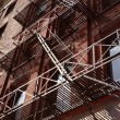 Stock Photo: Old Architecture with Fire Escape