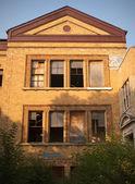 Abanoned Detroit School — Stock Photo