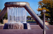 Fountain Park Detroit — Stock Photo