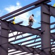 Structural Steel Worker — Stock Photo