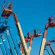 Manlift Crane Booms — Stock Photo