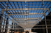 Structural Steel Framing — Stock Photo