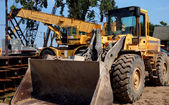 Construction Area Equipment — Stock Photo