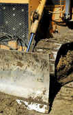 Bulldozer Construction Site — Stock Photo