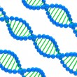Stock Photo: digital illustration of a dna