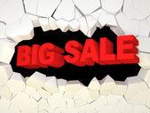 Big Sale Concept — Stock Photo