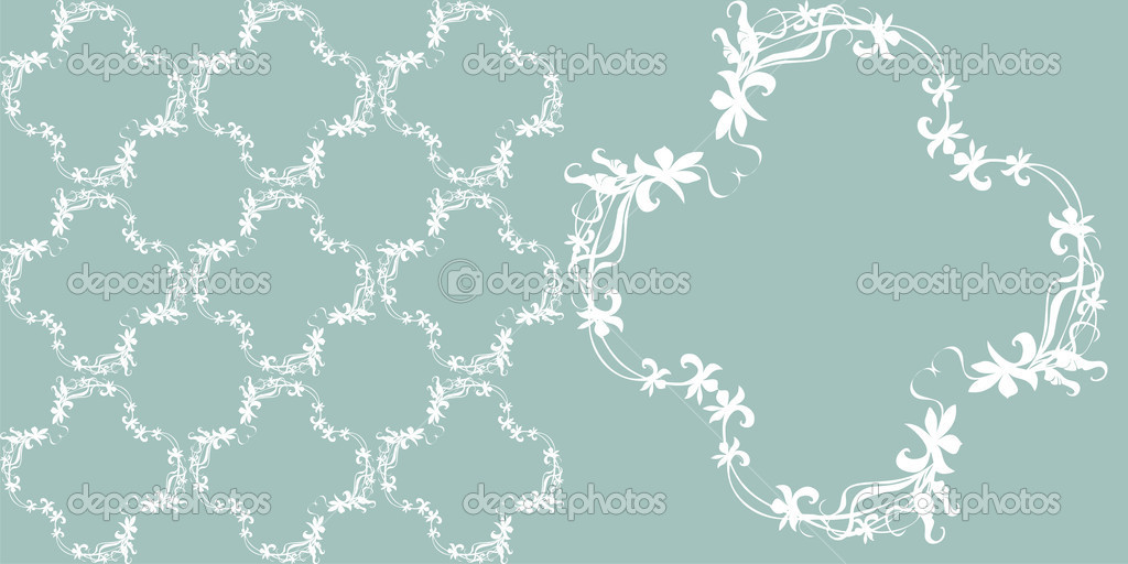 Floral design, background — Stock Vector #7493838