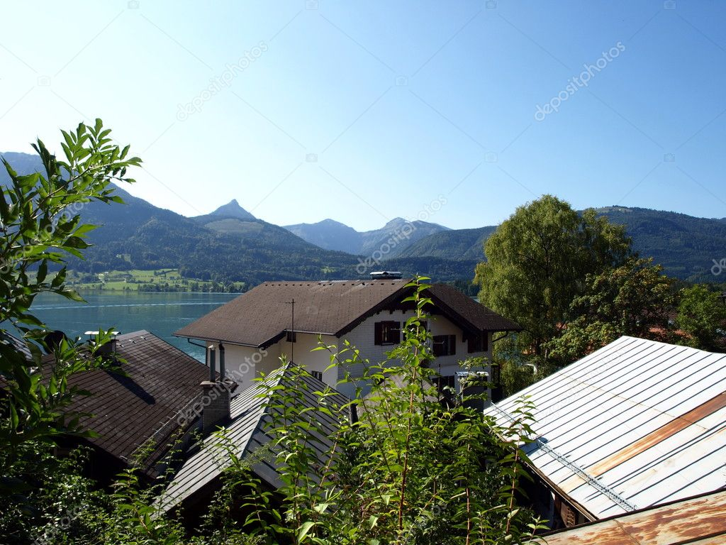 Village in the mountains — Stock Photo #7504103