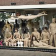 Nude mannequins — Stock Photo
