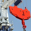 Stock Photo: Crane and hook
