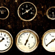 Dashboard - Stock Photo