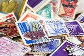 Postal stamps — Stock Photo