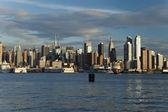 Uptown panoramę nowego jorku — Zdjęcie stockowe