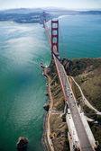 The Golden Gate Bridge — Stock Photo