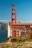 The Golden Gate Bridge in San Francisco — Stock Photo
