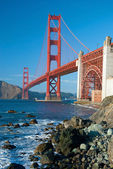 The Golden Gate Bridge in San Francisco — Stock Photo