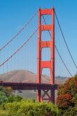 El puente del golden gate en san francisco — Foto de Stock