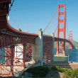 The Golden Gate Bridge in San Francisco — 图库照片