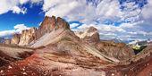 Belle vue sur les alpes italiennes — Photo