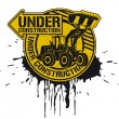 Under construction stamp - 