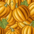 Seamless pumpkin background — Grafika wektorowa