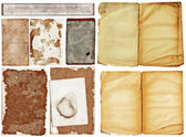 Grunge papers collection. — Stock Photo