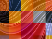 Abstract squares colorful background — Stock Photo