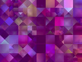 Abstract decorative squares background — Stock Photo