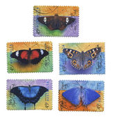 Butterfly Stamps — Photo