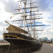 Cutty Sark in Greenwich, London — Stock Photo