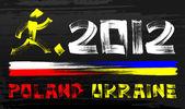 2012 Poland & Ukraine — Stock Vector