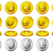 Royalty-Free Stock Vector Image: Currency Coin