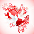 Royalty-Free Stock Vector Image: Love Birds
