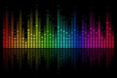 Musical Bar — Vector de stock