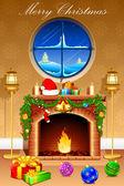 Christmas Celebration — Stock Vector