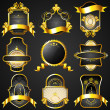 Decorative Golden Frame — Imagen vectorial