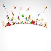 Poping firecracker — Διανυσματικό Αρχείο
